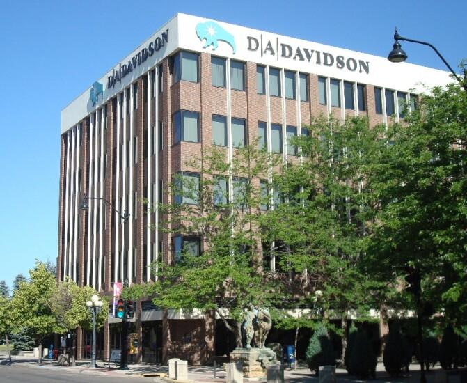 D.A. Davidson headquarter building exterior
