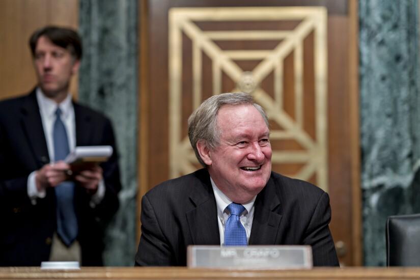 Senate Banking Committee Chairman Mike Crapo