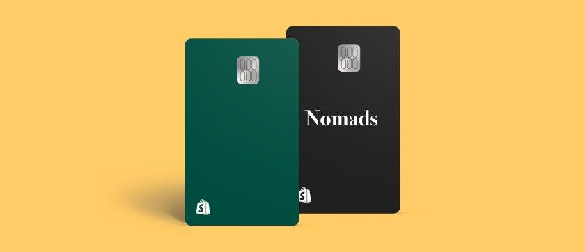 Shopify Balance card