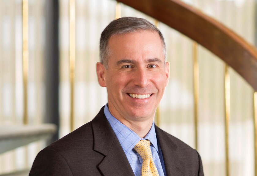 """""""I have prided myself ... on making sure anyone that wanted to participate could participate"""" in the rulemaking process, says former FASB Chairman Russell Golden."""