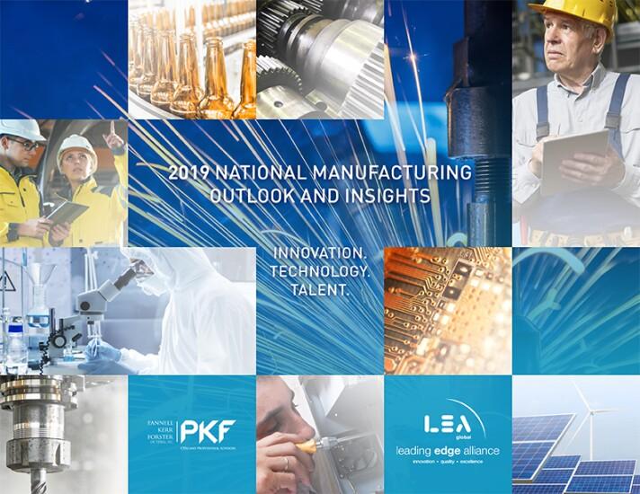 PKF LEA manufacturing survey 2019 cover