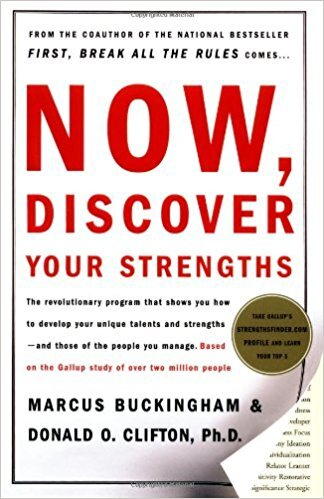 Book cover - Now Discover Your Strengths