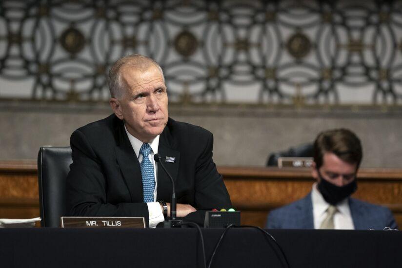 Senator Thom Tillis, a Republican from North Carolina