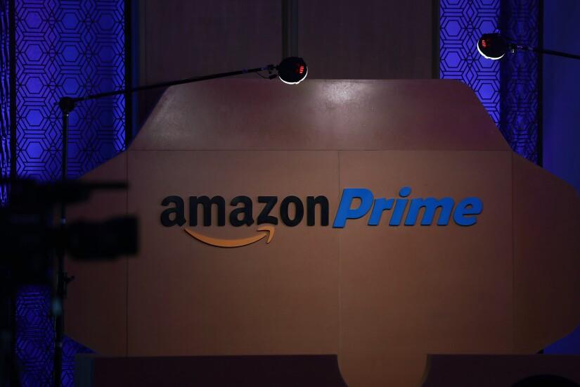 Amazon Prime signage