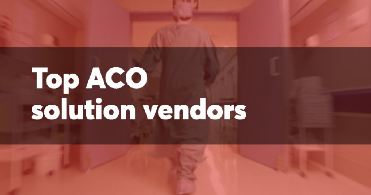 10 Top Providers Of Aco Services Health Data Management