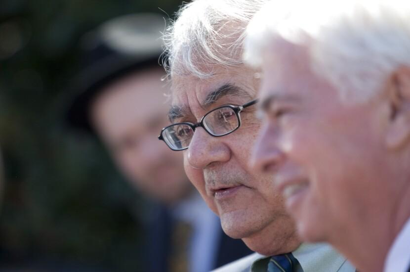 Rep. Barney Frank, D-Mass., and Sen. Chris Dodd, D-Conn., in 2010