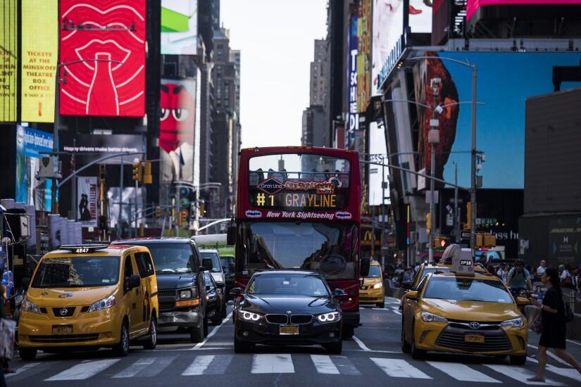 New York City taxi traffic