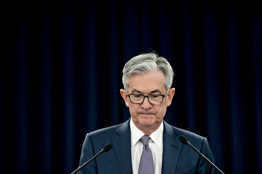"""The recovery may take some time to gather momentum, and the passage of time can turn liquidity problems into solvency problems,"" said Fed Chairman Jerome Powell."