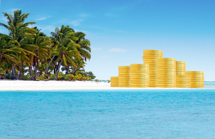 Offshore tax haven