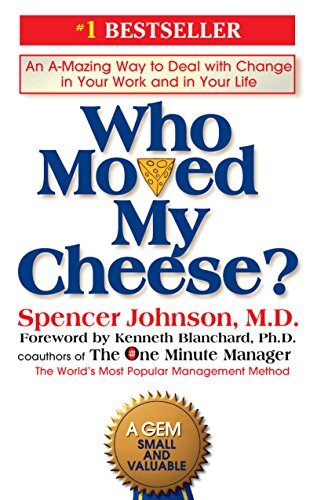 Book cover - Who Moved My Cheese