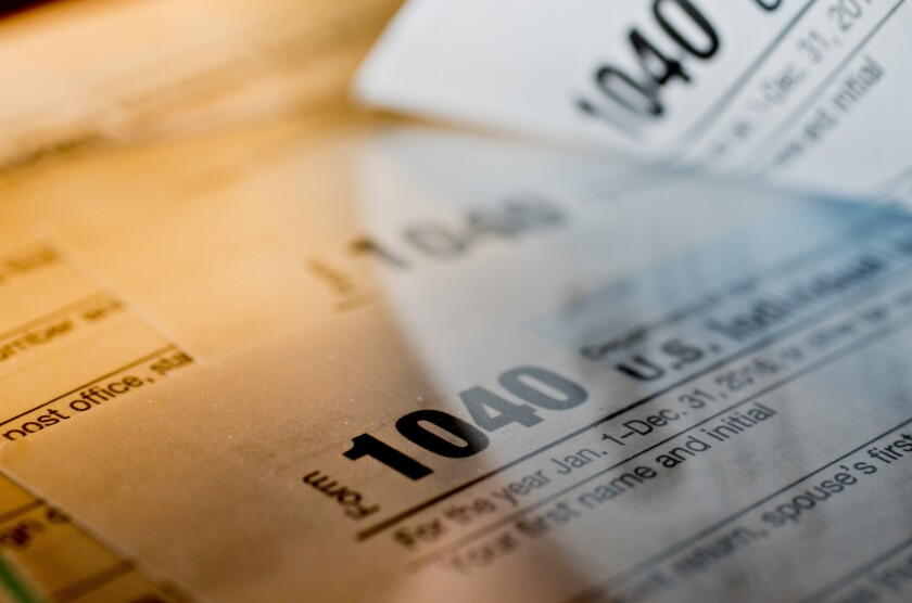 A portion of a client's Social Security benefits may be subject to federal income tax depending on their income levels.