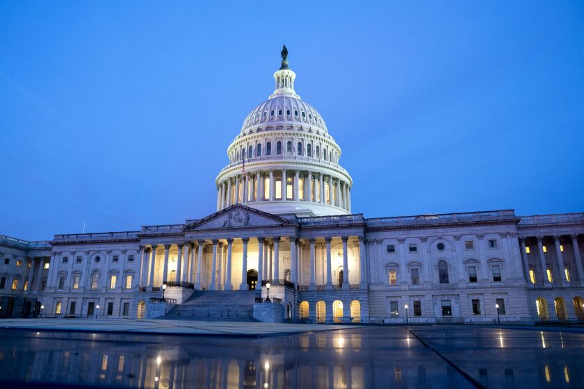 With a divided Congress a likelier prospect than before the election, when many pollsters were predicting a Democratic sweep, bankers and other analysts sounded increasingly confident that the industry dodged a bullet.