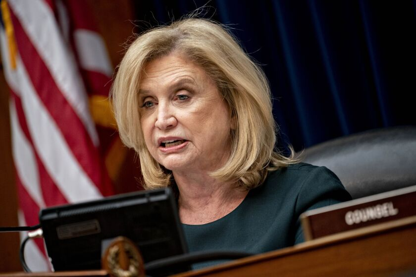 """Reps. Carolyn Maloney, D-N.Y., and Maxine Waters, D-Calif., told the head of the FDIC that the IG report raises """"questions about whether the agency is prepared for the potential financial consequences from the coronavirus crisis."""""""