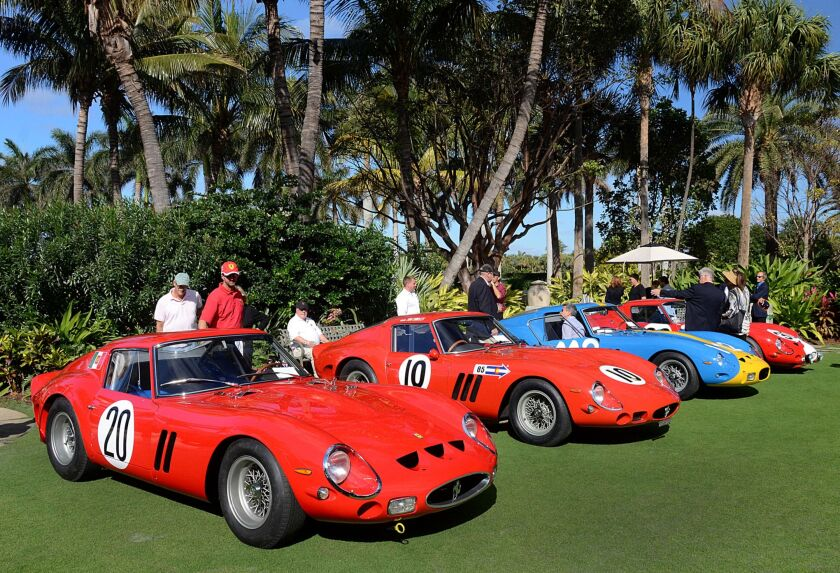 Investors eye a line of vintage Ferrari GTOs, which can be acquired through a securities-based loan.
