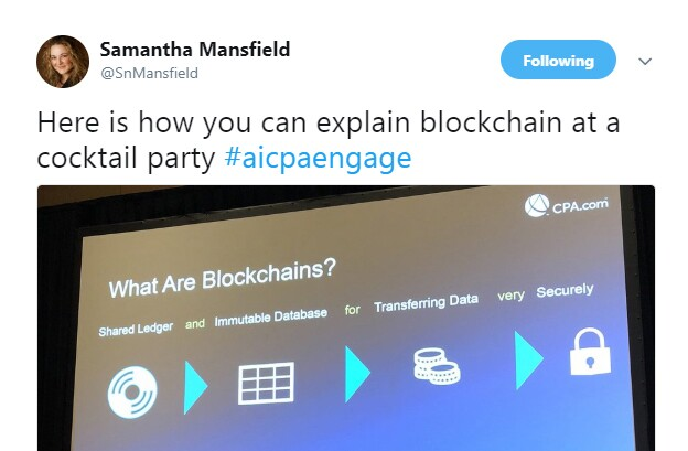 Engage 2018 - Blockchain cocktail