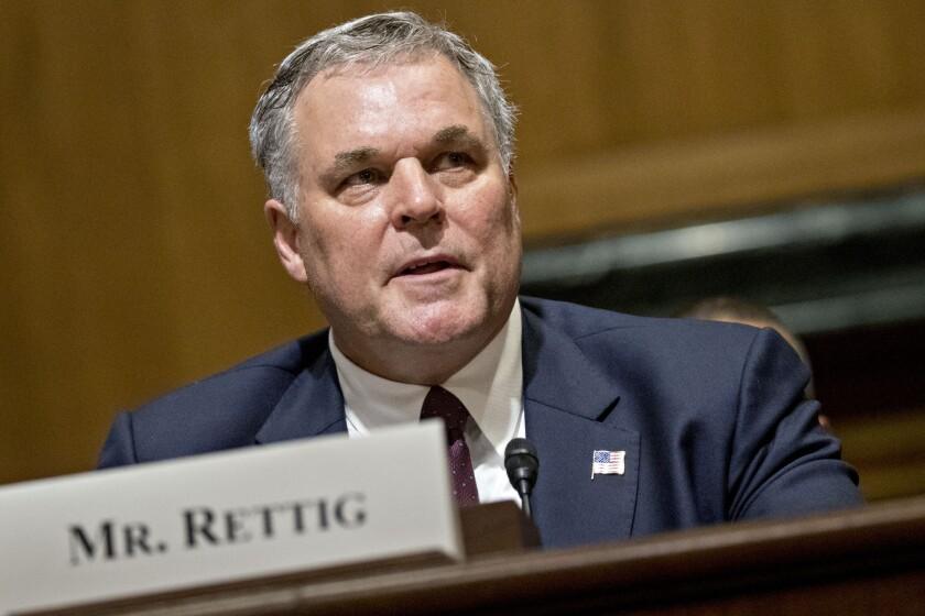 "IRS Commissioner Charles ""Chuck"" Rettig"