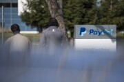 PayPal signage