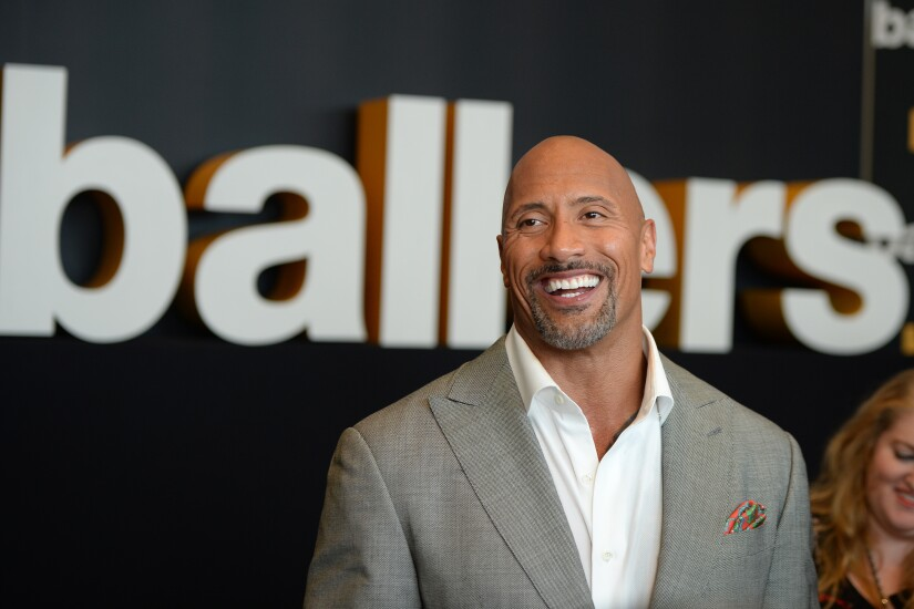 CAN'T USE. ONE USE ONLY  Dwayne Johnson Spencer Strassmore Ballers
