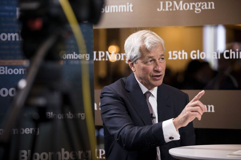 """You can create more deaths from depression, overdose if we're not real careful and manage those things,"" said JPMorgan Chase CEO Jamie Dimon."