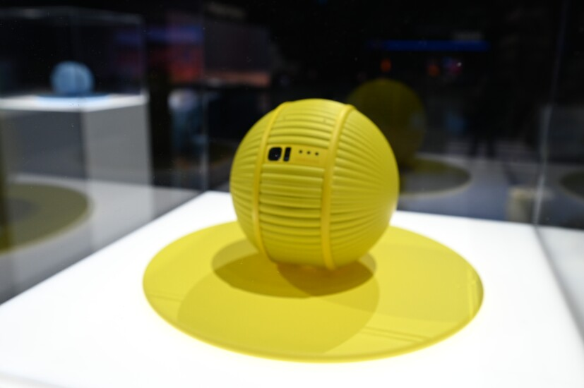 Samsung's Ballie device showcased at CES 2020