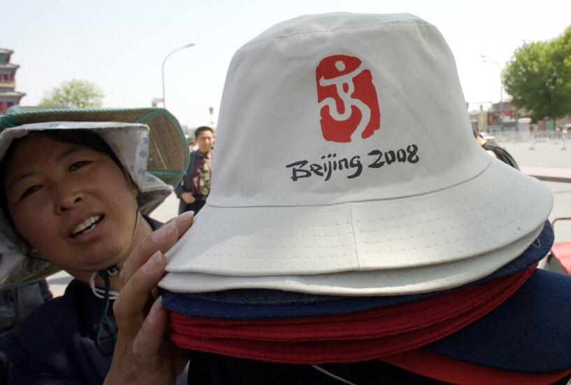 Beijing 2008 Olympics hats