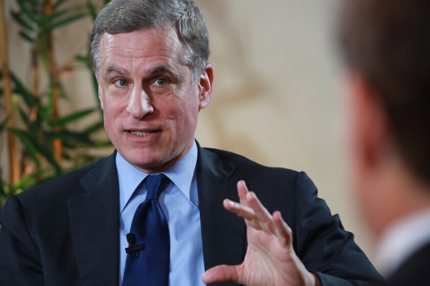 Federal Reserve Bank of Dallas President Robert Kaplan