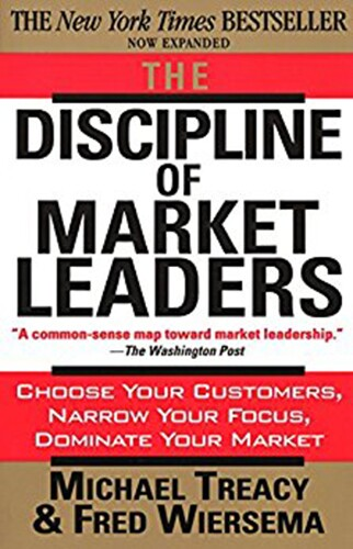 Book cover - Discipline of Market Leaders