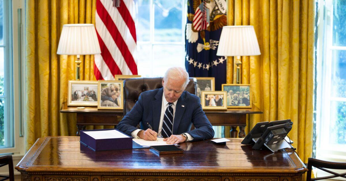 Biden executive orders: President takes action on