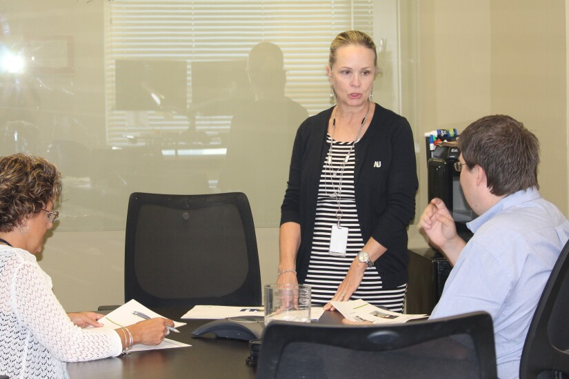 Michelle Thorne, president and CEO of $195 million American United Federal Credit Union, West Jordan, Utah