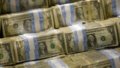 Stack of U.S. dollars