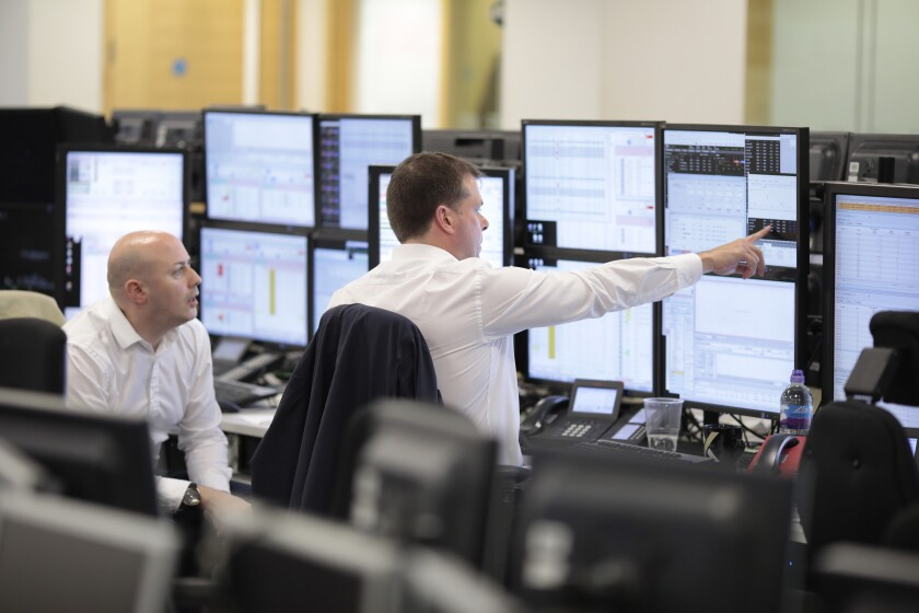 Strategist recommend that investors with a long-term horizon or fund managers looking to remove risk from their portfolios move into safer stocks like utilities.