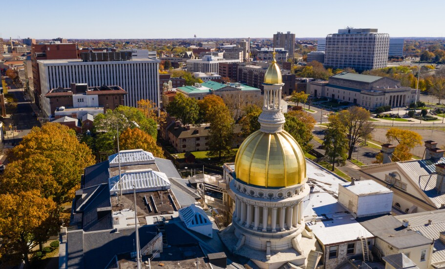 New Jersey State House, the capitol building for New Jersey in Trenton