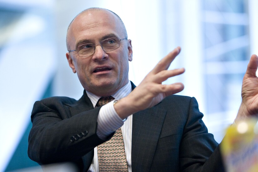 Andrew Puzder fast food CEO DOL nominee Bloomberg News
