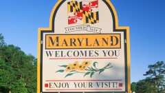 Welcome to Maryland sign cropped
