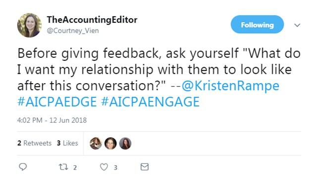 Engage 2018 - Feedback