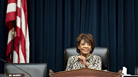 Rep. Maxine Waters, D-Calif., proposed legislation that would use the U.S. Postal Service to help underbanked consumers establish digital identification.