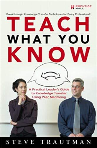 Book cover - Teach What You Know