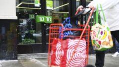 TD bank branch door
