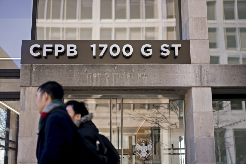 "The CFPB said it will consider ""good-faith efforts"" by servicers to prevent consumer harm and comply with regulations in the event that a regulator or other entity requests a servicing transfer."