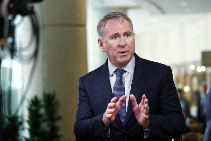 Ken Griffin says his firm and others kept capital markets working in a way that those of yesteryear — dominated by voice-based brokering — could not have in the face of a crisis of this magnitude.
