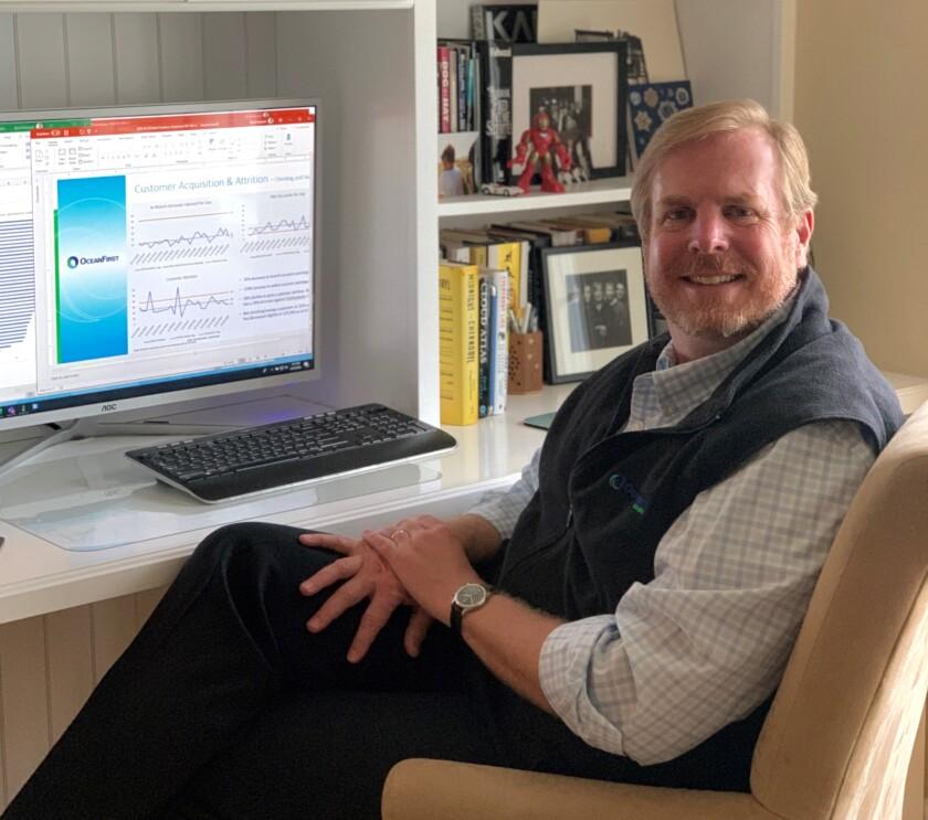 David Howard, president of digital strategy and innovation, OceanFirst Bank