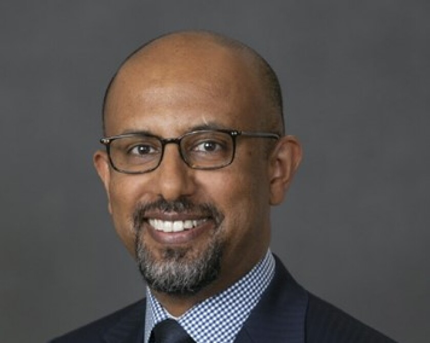 Michael Demissie, head of advanced solutions, BNY Mellon