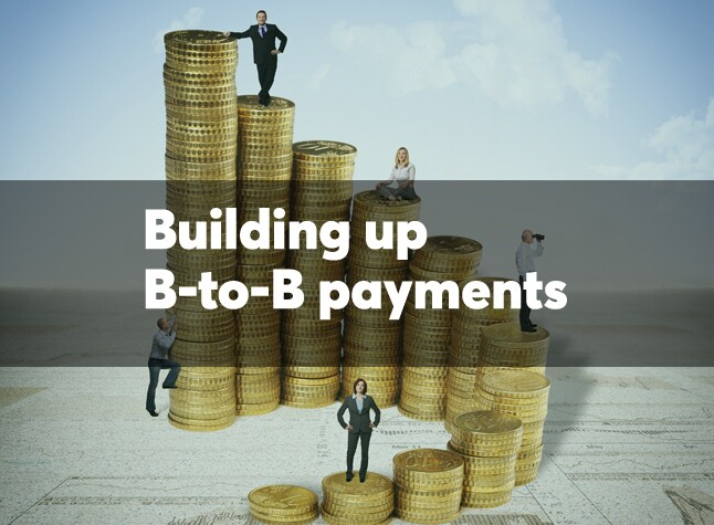 Building up B-to-B payments