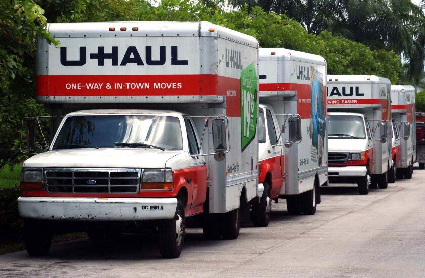 Moving Truck Uhaul