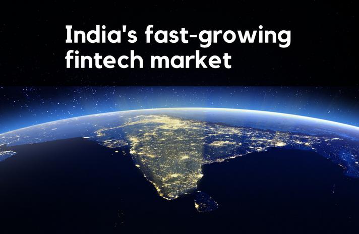 Inda's fast-growing fintech market