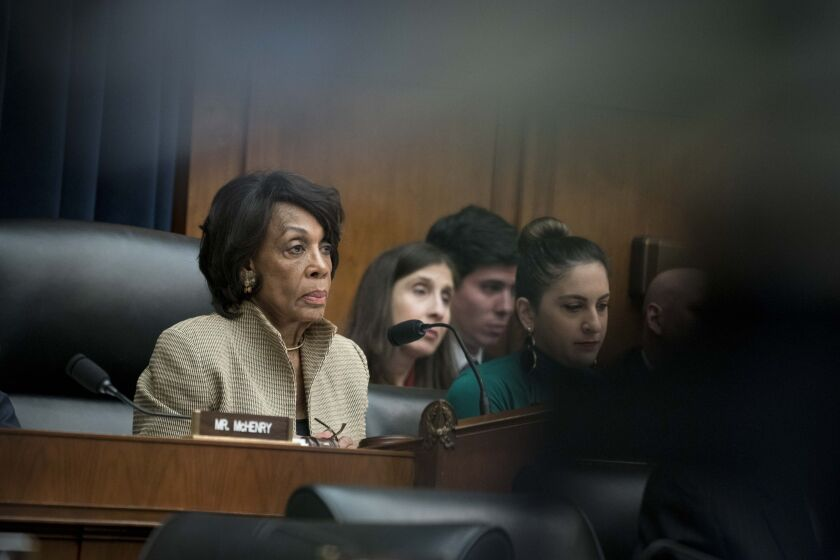 """""""I am deeply concerned that the OCC's final rule will harm low-income and minority communities that are disproportionately suffering during this crisis,"""" House Financial Services Committee Chairwoman Maxine Waters, D-Calif., said on the House floor Monday."""