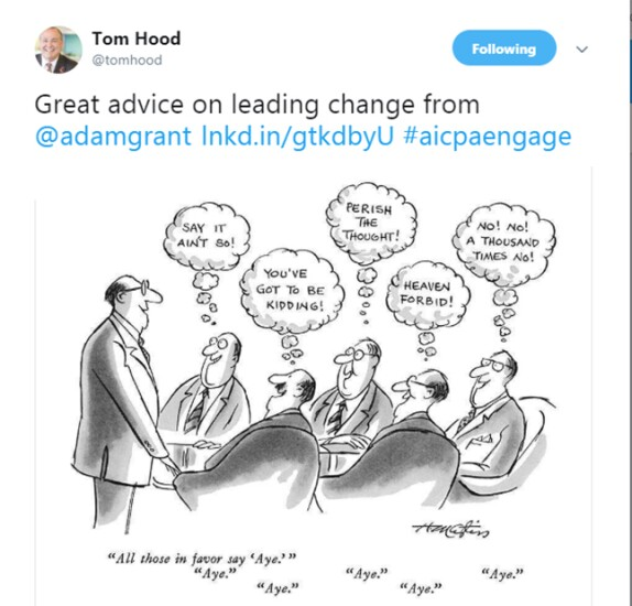 Engage 2018 - Cartoon on change