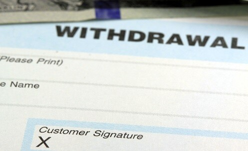 IRA withdrawal form