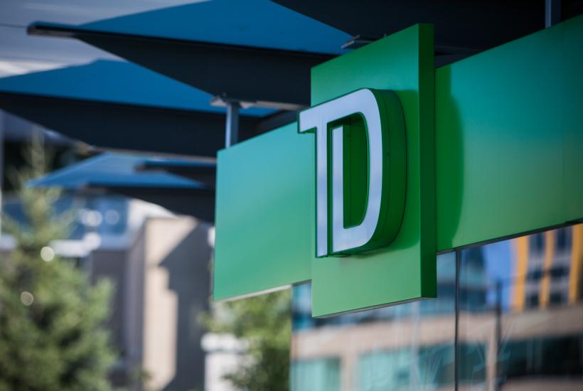 TD Bank signage