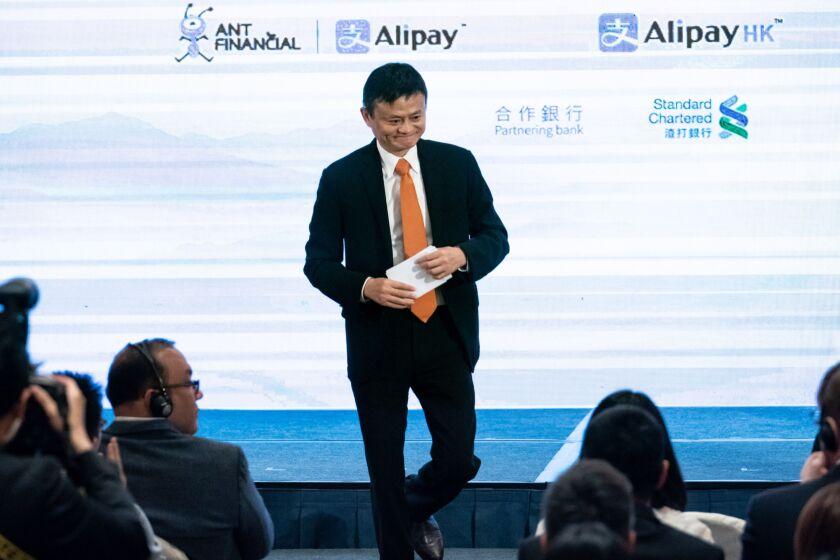 Jack Ma, chairman of Alibaba Group Holding Ltd.